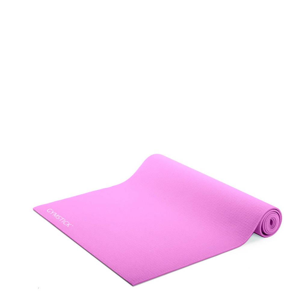 Gymstick  Fitness mat roze + instructievideo's, Roze