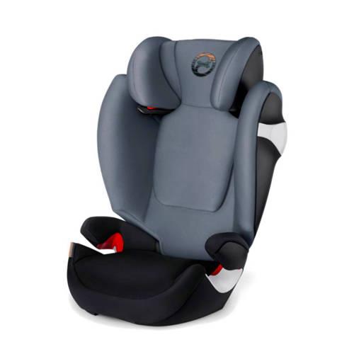 Solution M autostoel groep 2-3 Pepper black