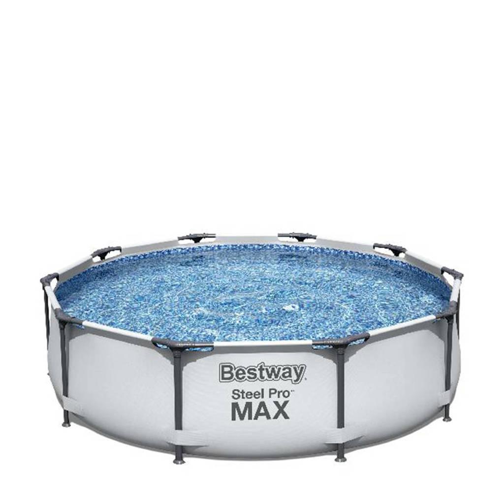 Bestway Steel Pro zwembad Sirocco frame Pro Max set rond 305, Blauw