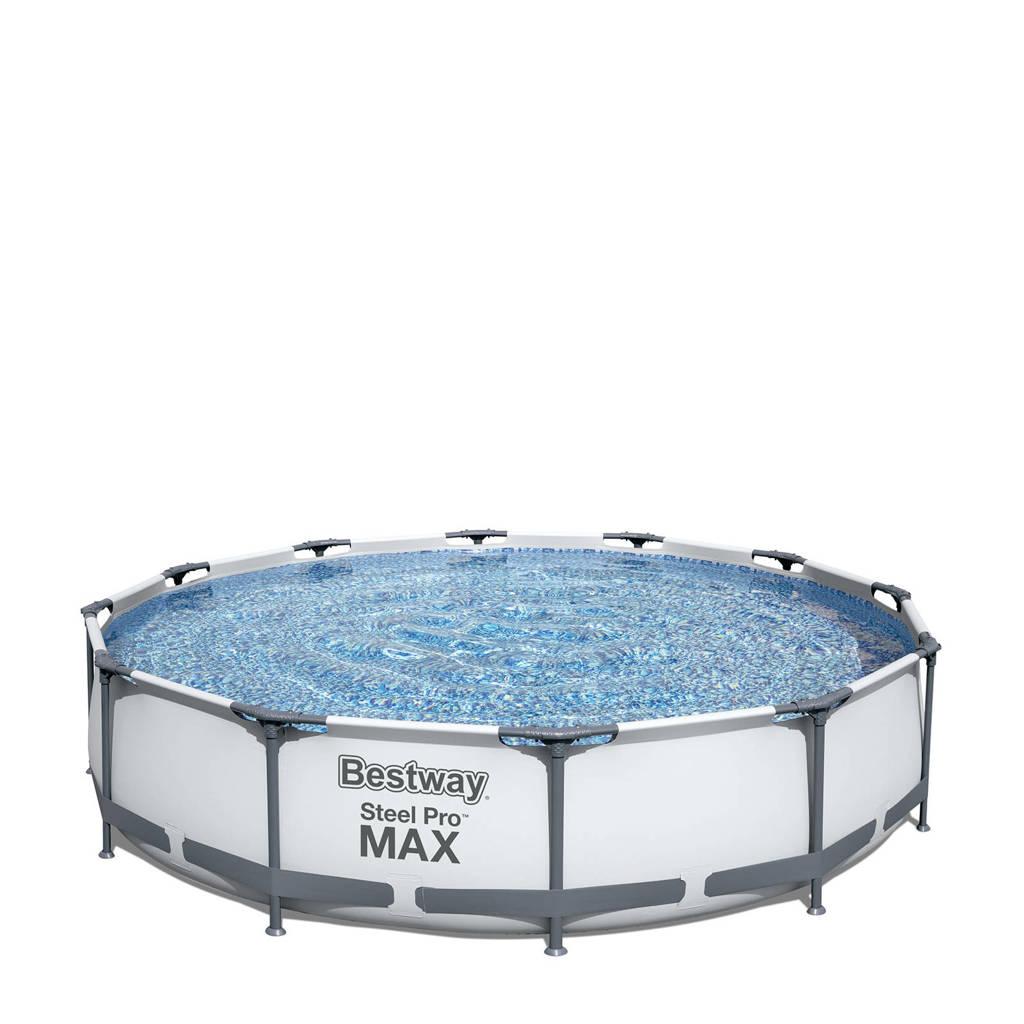 Bestway Steel Pro Max frame zwembad (Ø 366x76 cm) met filterpomp, Ø366