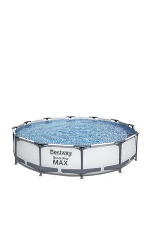 frame zwembad (Ø 366x76 cm) met filterpomp