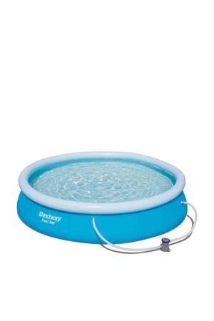 zwembad (Ø 366x76 cm) met filterpomp