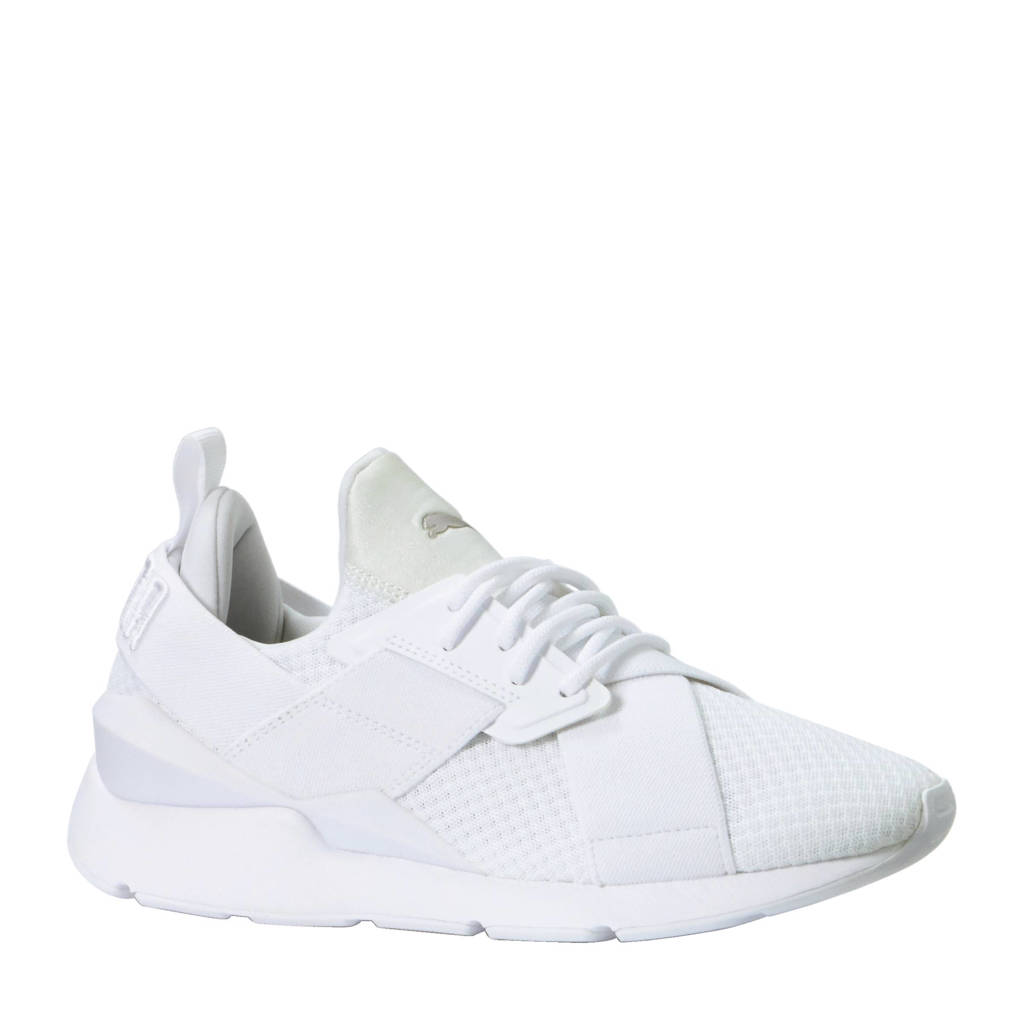 Puma Muse EP Wn's sneakers, Wit/zilver