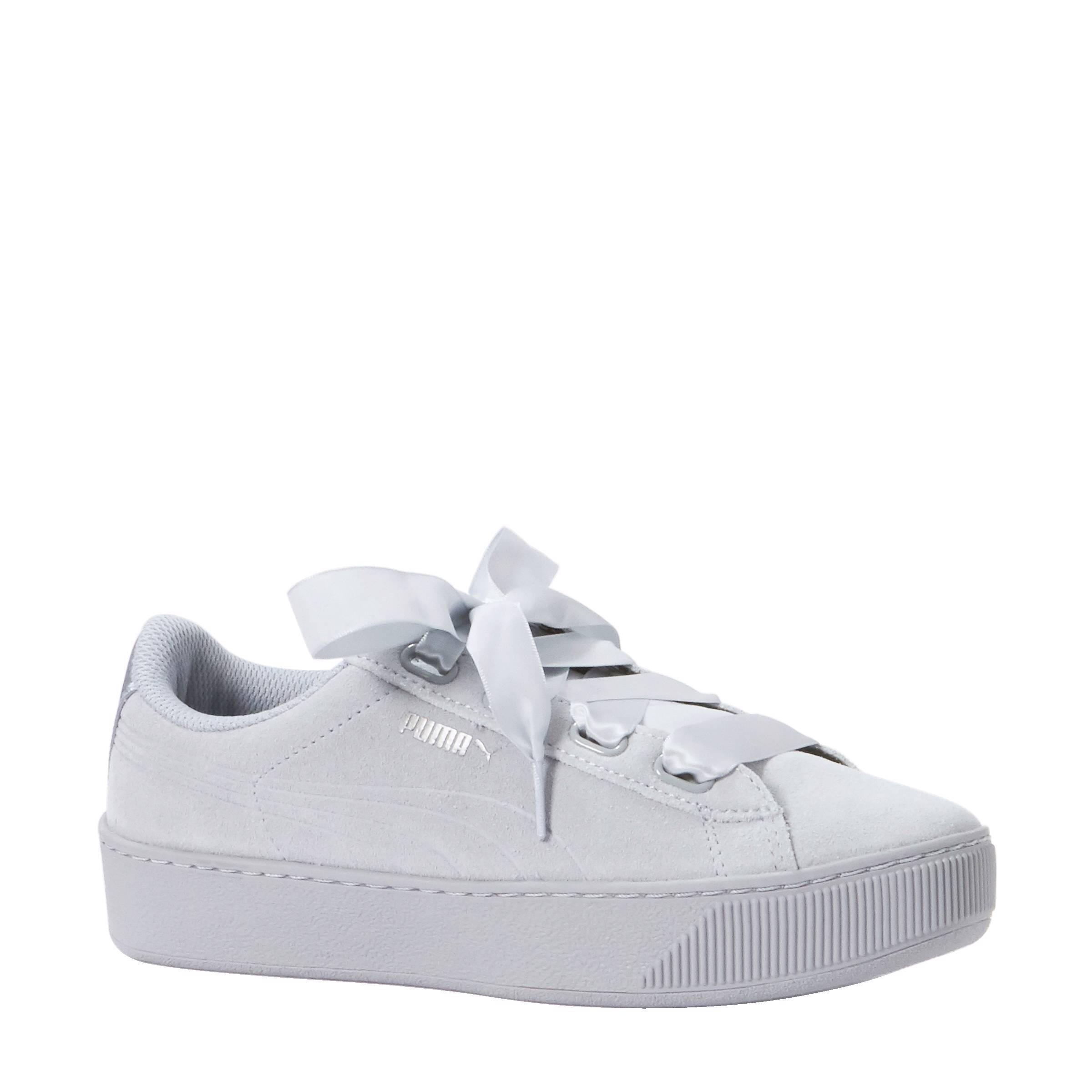Puma Vikky Platform Ribbon S sneakers   wehkamp
