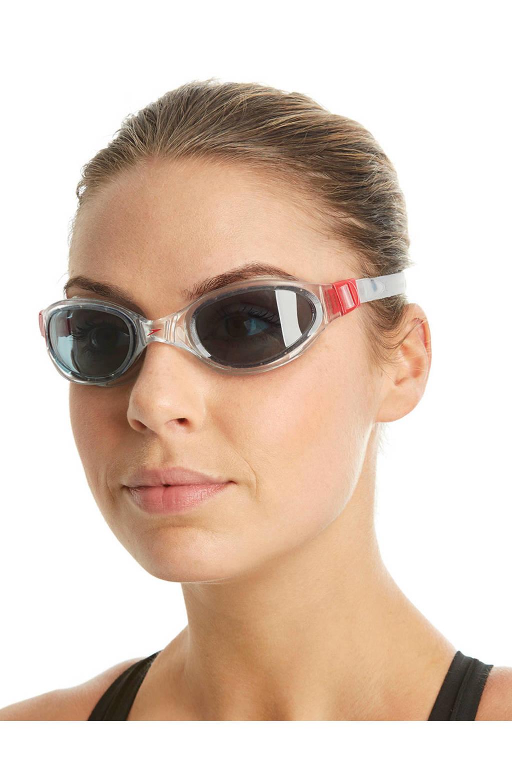 Speedo zwembril, Transparant/rood