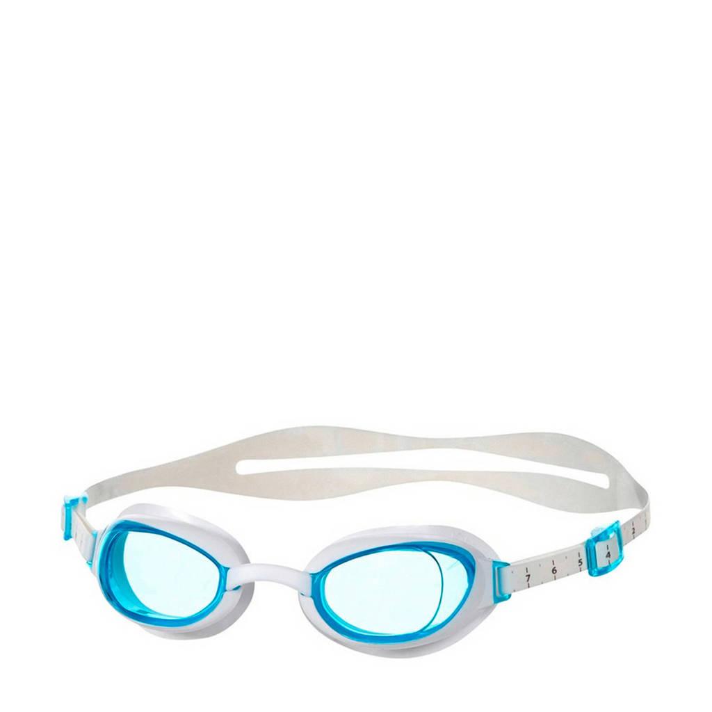 Speedo zwembril, Wit/lichtblauw