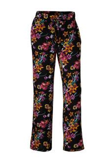 broek met bloemdessin