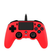 PlayStation 4 official wired compact controller rood