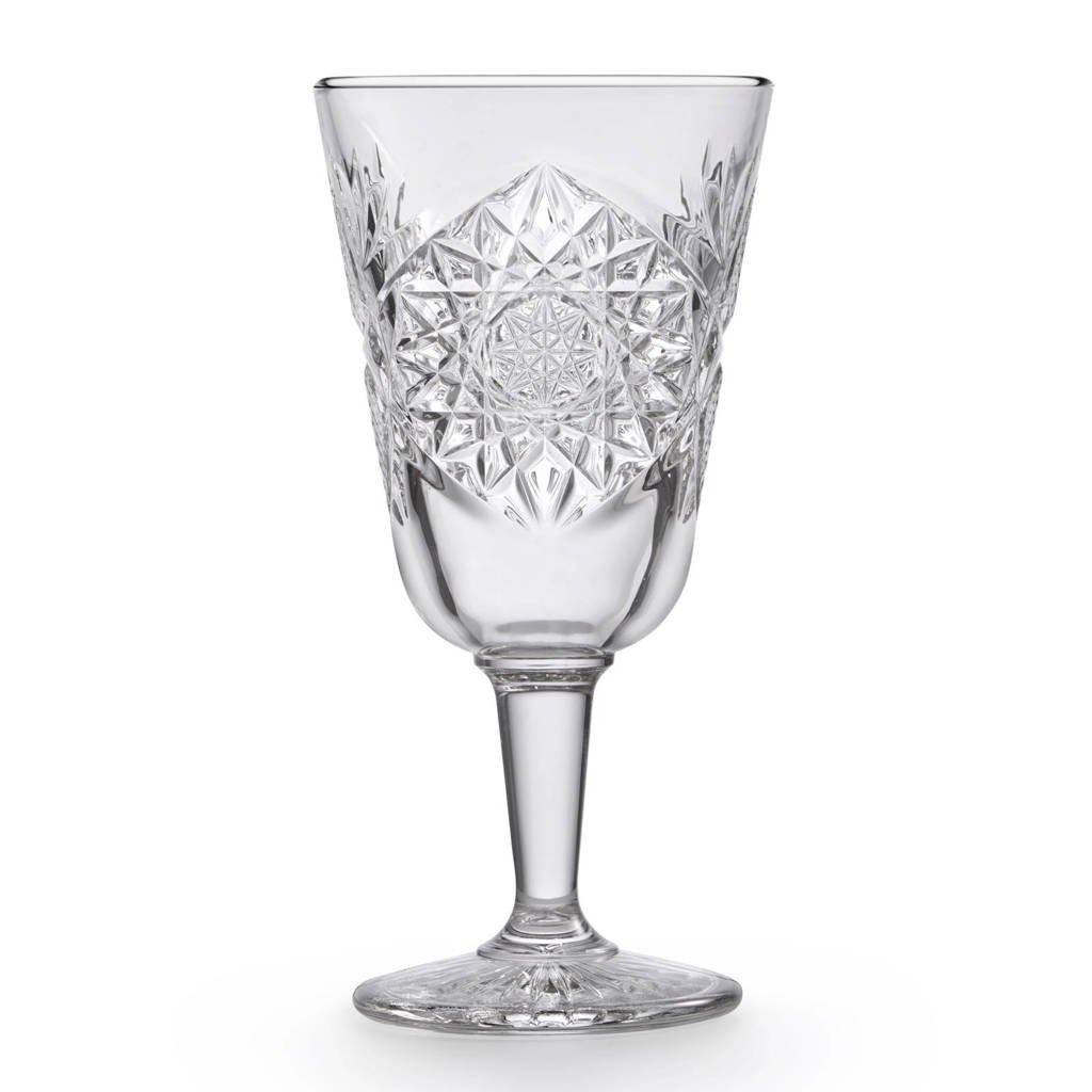 Libbey Hobstar wijnglas (Ø8,9 cm), Transparant