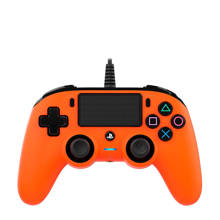 PlayStation 4 official wired compact controller oranje