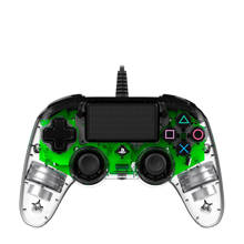 PlayStation 4 official wired compact LED controller groen