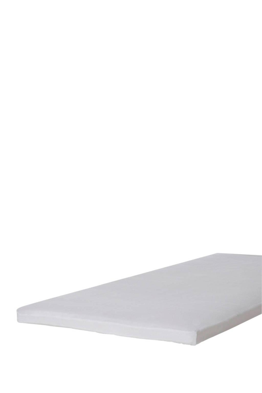 Beddinghouse molton topmatras hoeslaken tot 10 cm matras, Wit