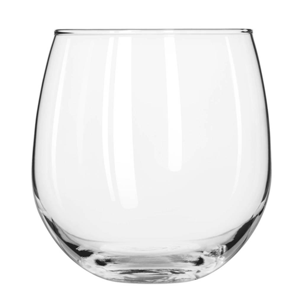 Libbey Stemless rode wijnglas (Ø9,7 cm), Transparant