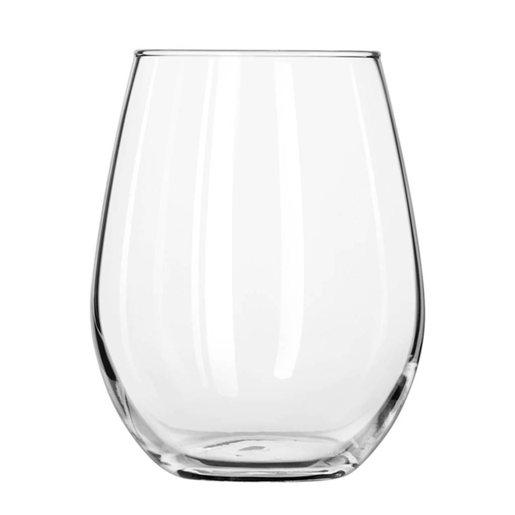 Libbey Stemless witte wijnglas (Ø8,3 cm), Transparant