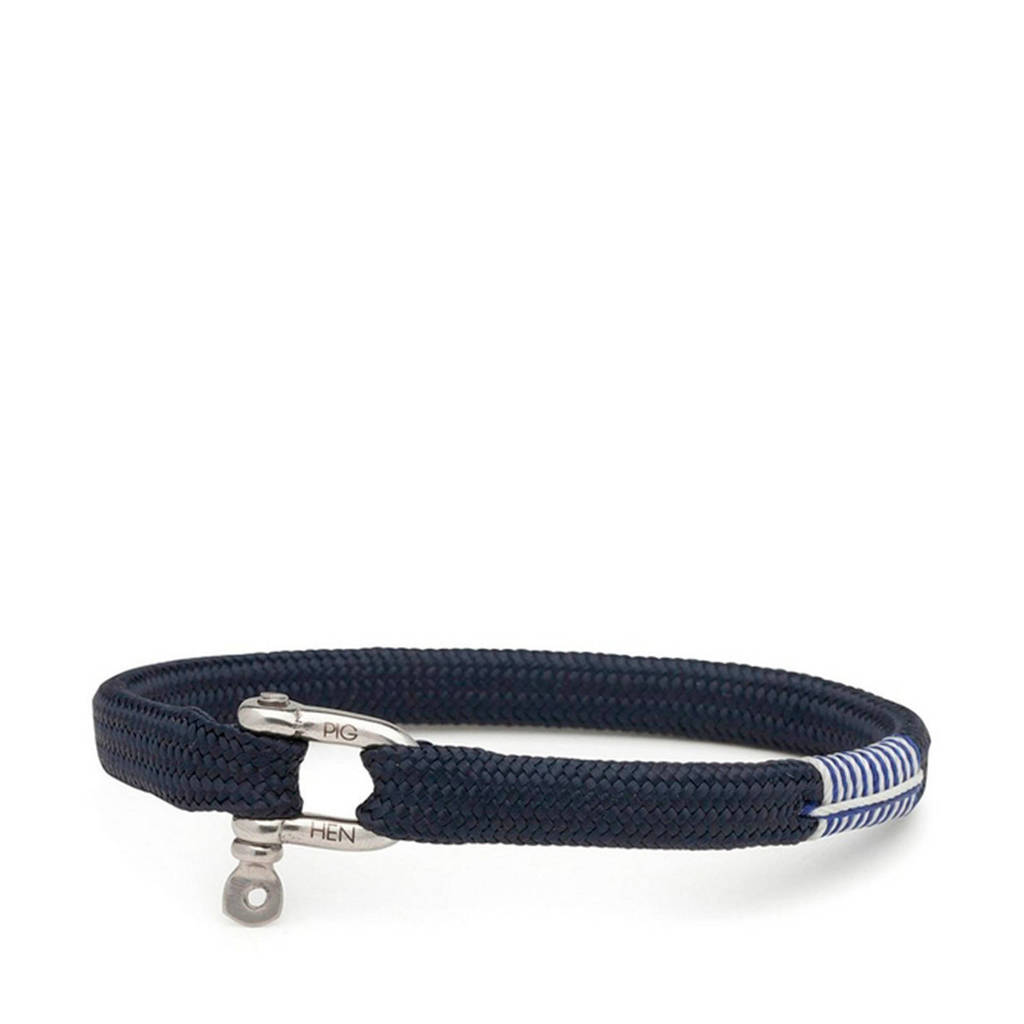 Pig & Hen armband Vicious Vik, Donkerblauw