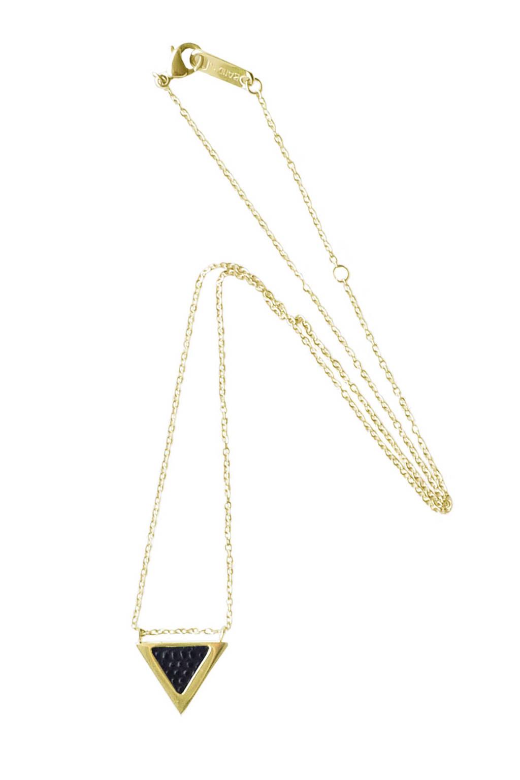 Bandhu ketting, Goud/zwart
