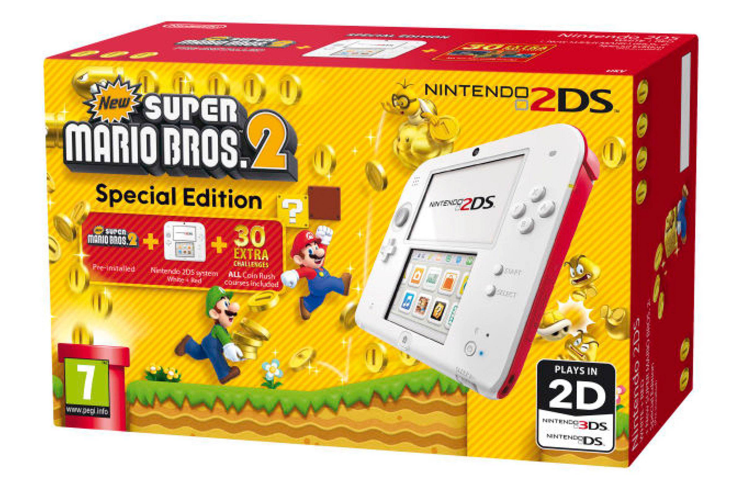 Nintendo 2DS 2203832 + New Super Mario Bros 2
