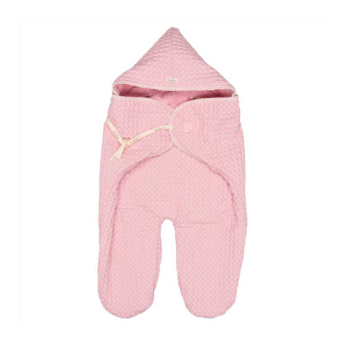 Koeka wrapper wafel-teddy Oslo old baby pink