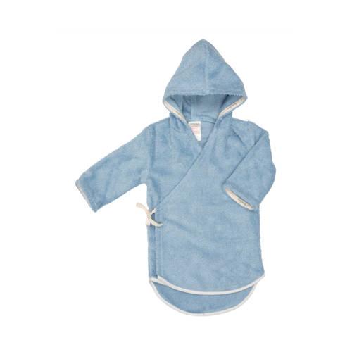 Koeka baby badjas Venice Smart soft blue maat 62-68