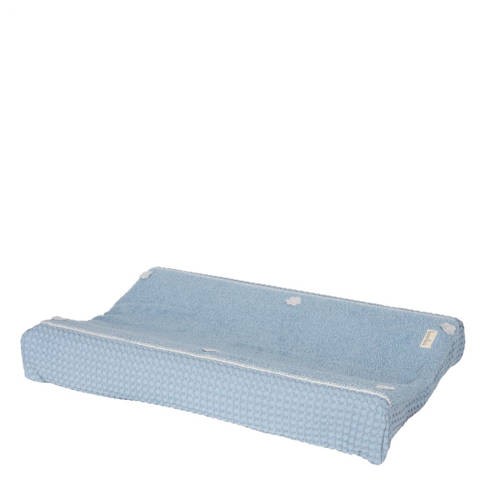 Koeka aankleedkussenhoes wafel Amsterdam soft blue