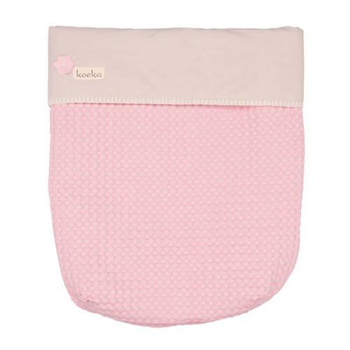 Koeka Maxi-Cosi dekje Antwerp old baby pink-pebble
