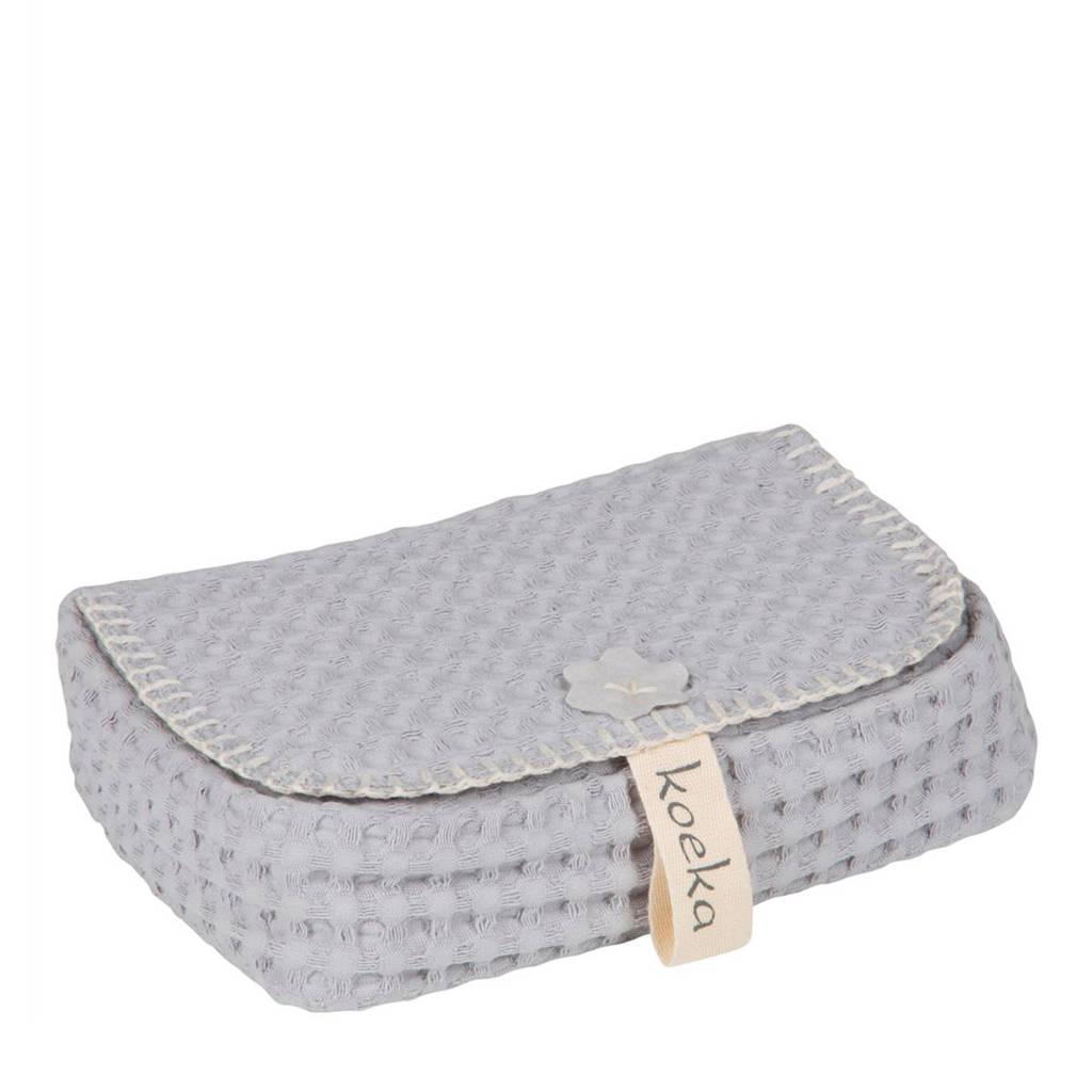 Koeka Antwerp babydoekjeshoes silver grey, Silver Grey