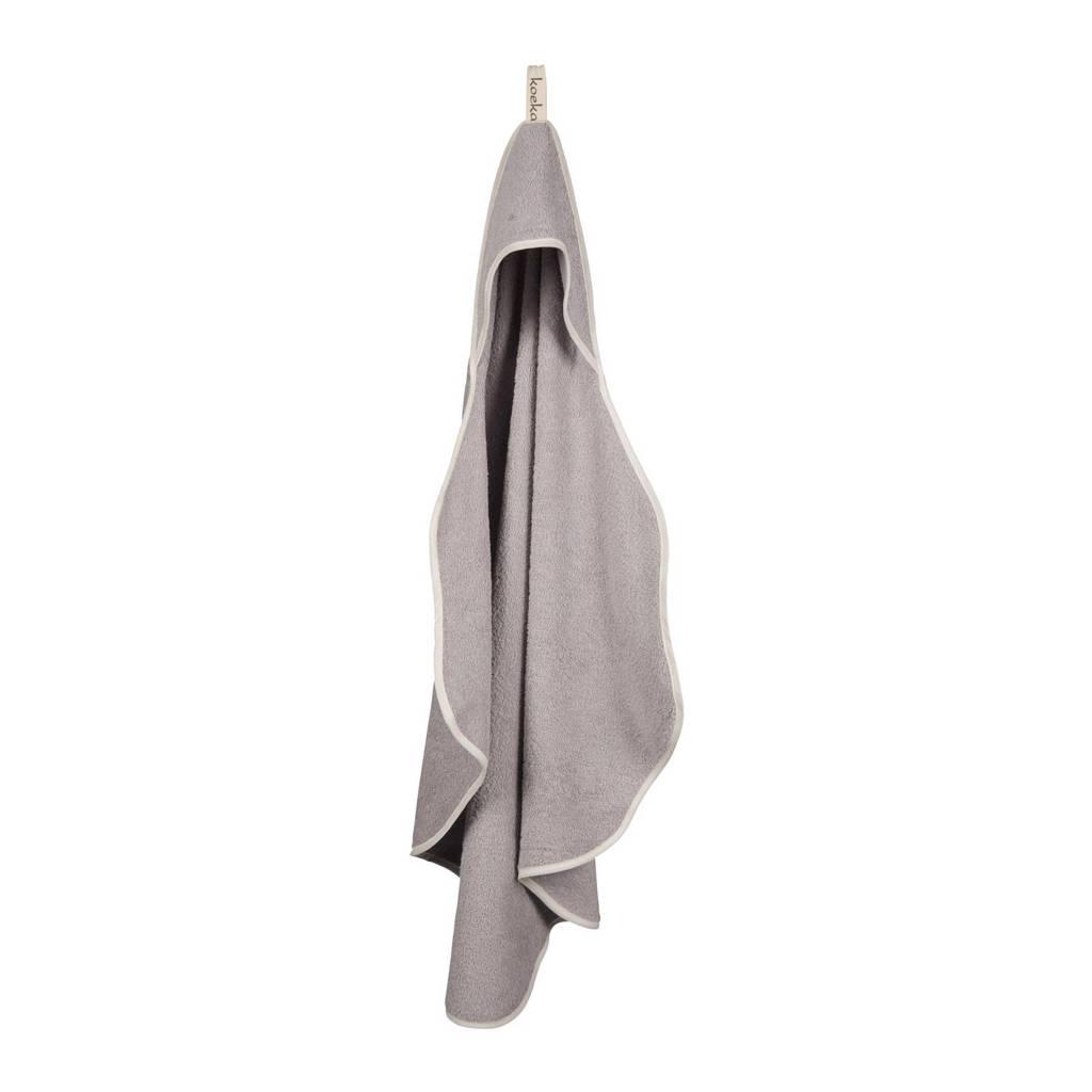 Koeka Rome badcape 90x83 cm silver grey, Silver Grey