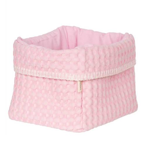 Koeka opbergmandjes Antwerp per stuk old baby pink