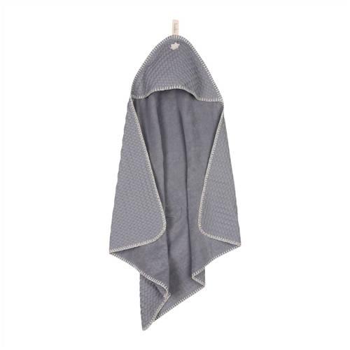 Koeka Antwerp badcape 105x100 cm steel grey kopen