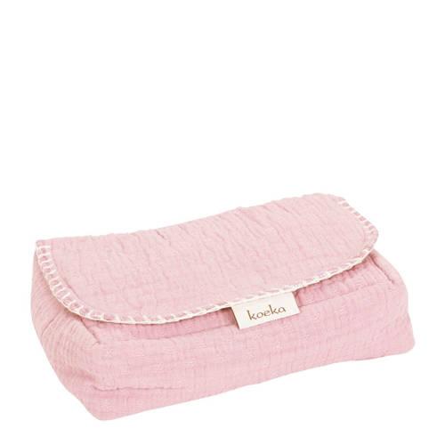 Koeka Babydoekjes Hoes Elba Water Pink