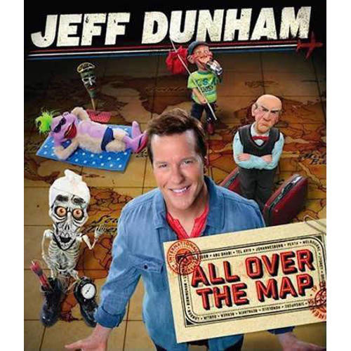 Jeff Dunham - All Over The Map (Blu-ray) kopen