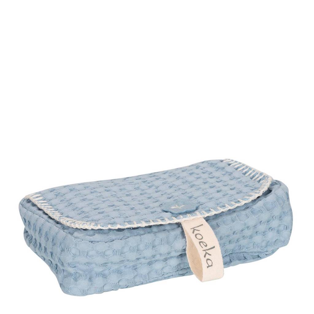 Koeka Antwerp babydoekjeshoes soft blue