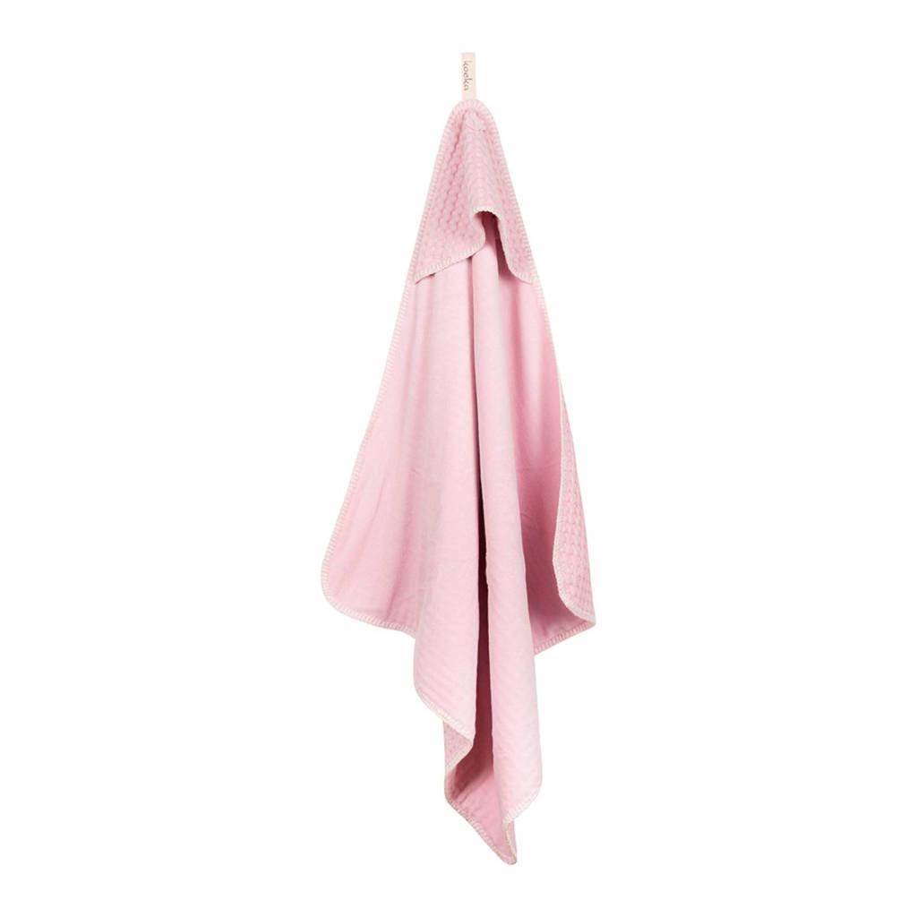 Koeka Antwerp badcape 105x100 cm old baby pink