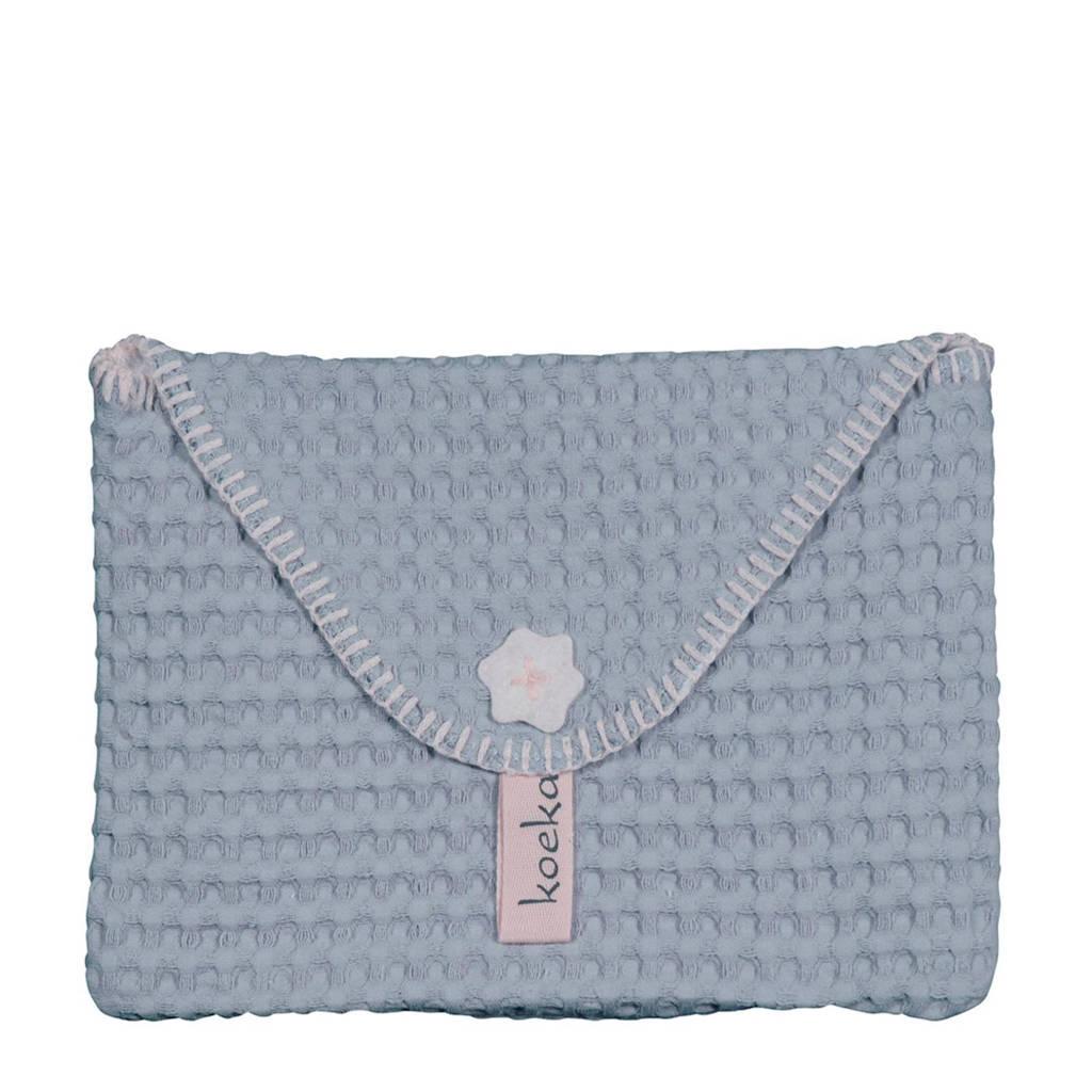 Koeka baby purse Antwerp luieretui soft blue