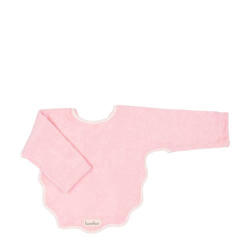 Koeka slabber met mouw Venice baby pink