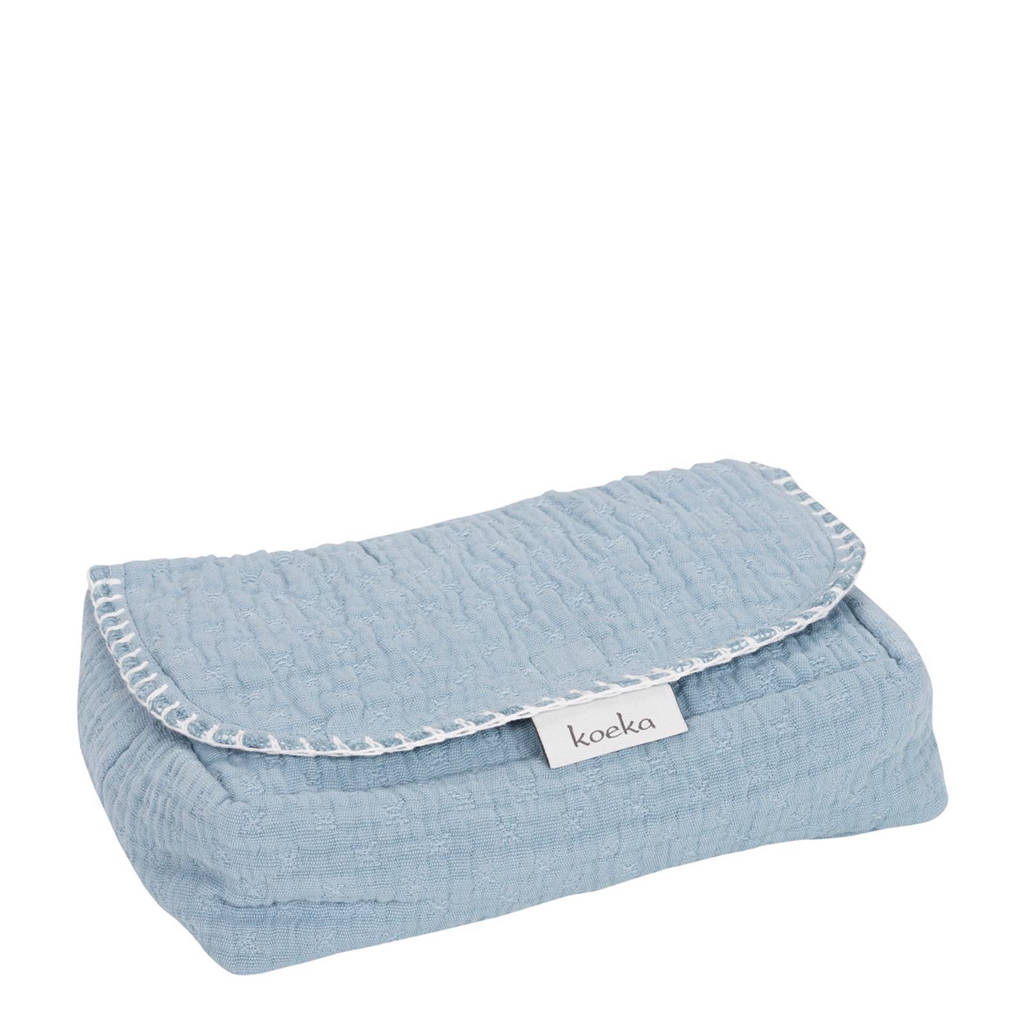 Koeka Elba babydoekjeshoes soft blue