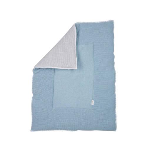 Koeka Vizela boxkleed soft blue/silvergrey kopen
