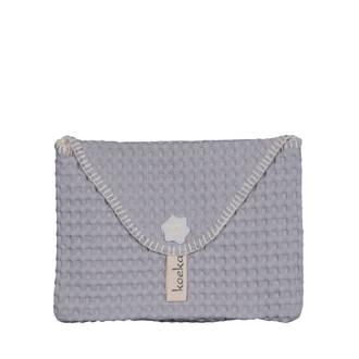 baby purse Antwerp luieretui silver grey