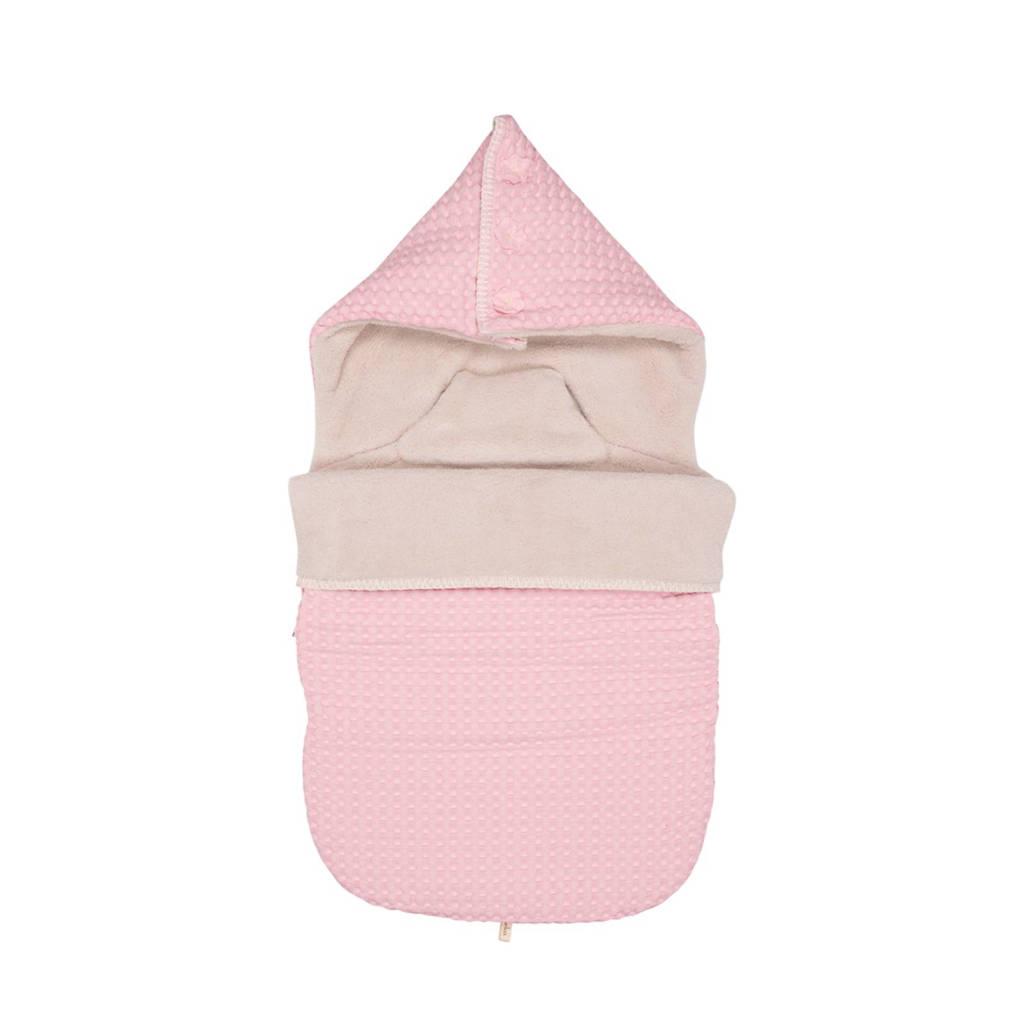 Koeka Oslo voetenzak old baby pink, old baby pink/pebble