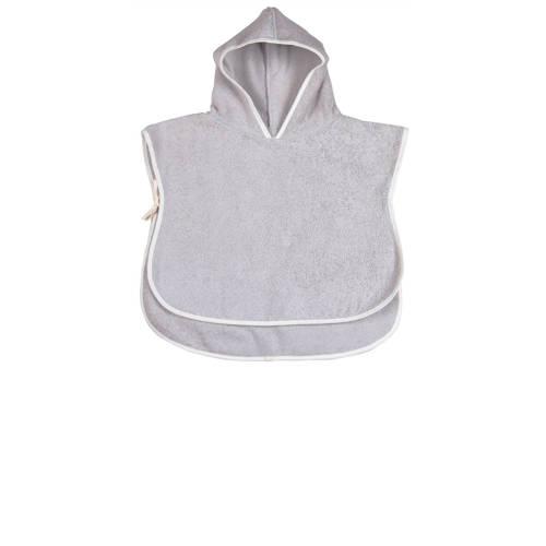 Koeka bad poncho silver grey-S (1-2 jaar)