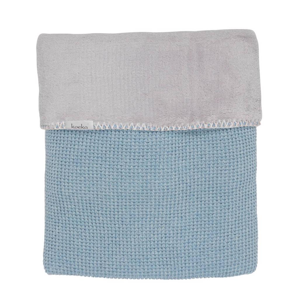 Koeka Vizela deken soft blue