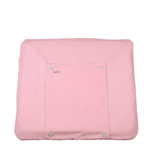 Koeka aankleedkussenhoes wafel Bonn old baby pink
