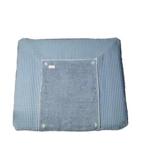 Koeka aankleedkussenhoes wafel Bonn soft blue