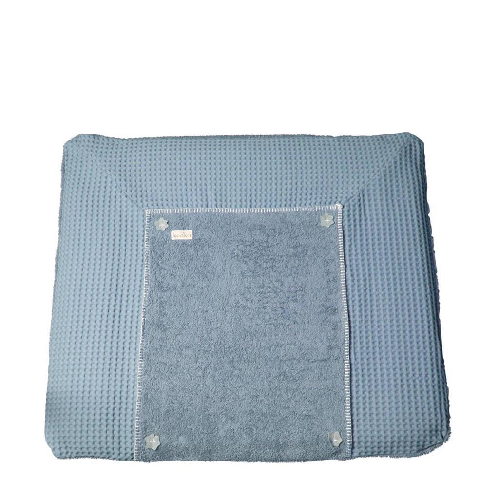 Koeka Bonn aankleedkussenhoes 90 x 78 cm soft blue