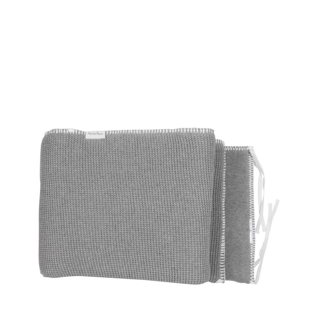 Koeka Vizela boxbumper grey, Grey
