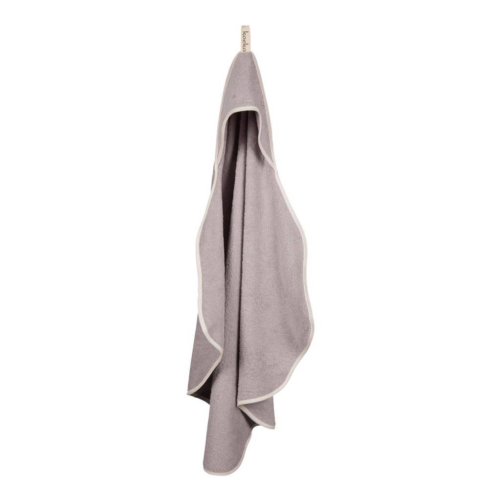 Koeka Rome badcape 103x100 silver grey, Silver Grey
