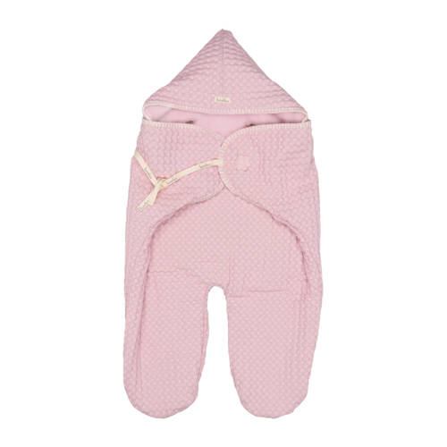 Koeka wrapper wafel Antwerp old baby pink
