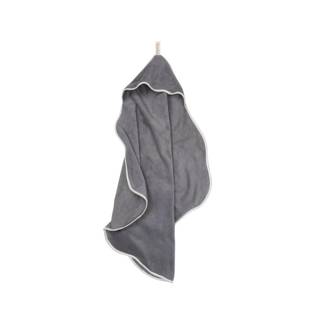 Koeka Rome badcape 103x100 steel grey, Steel grey