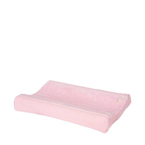Koeka aankleedkussenhoes wafel Amsterdam old baby pink