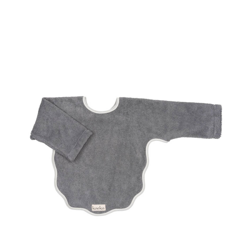 Koeka Venice slab met lange mouwen steel grey, Steel grey